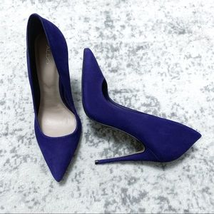 Aldo Purple Soft Heels Pumps 8